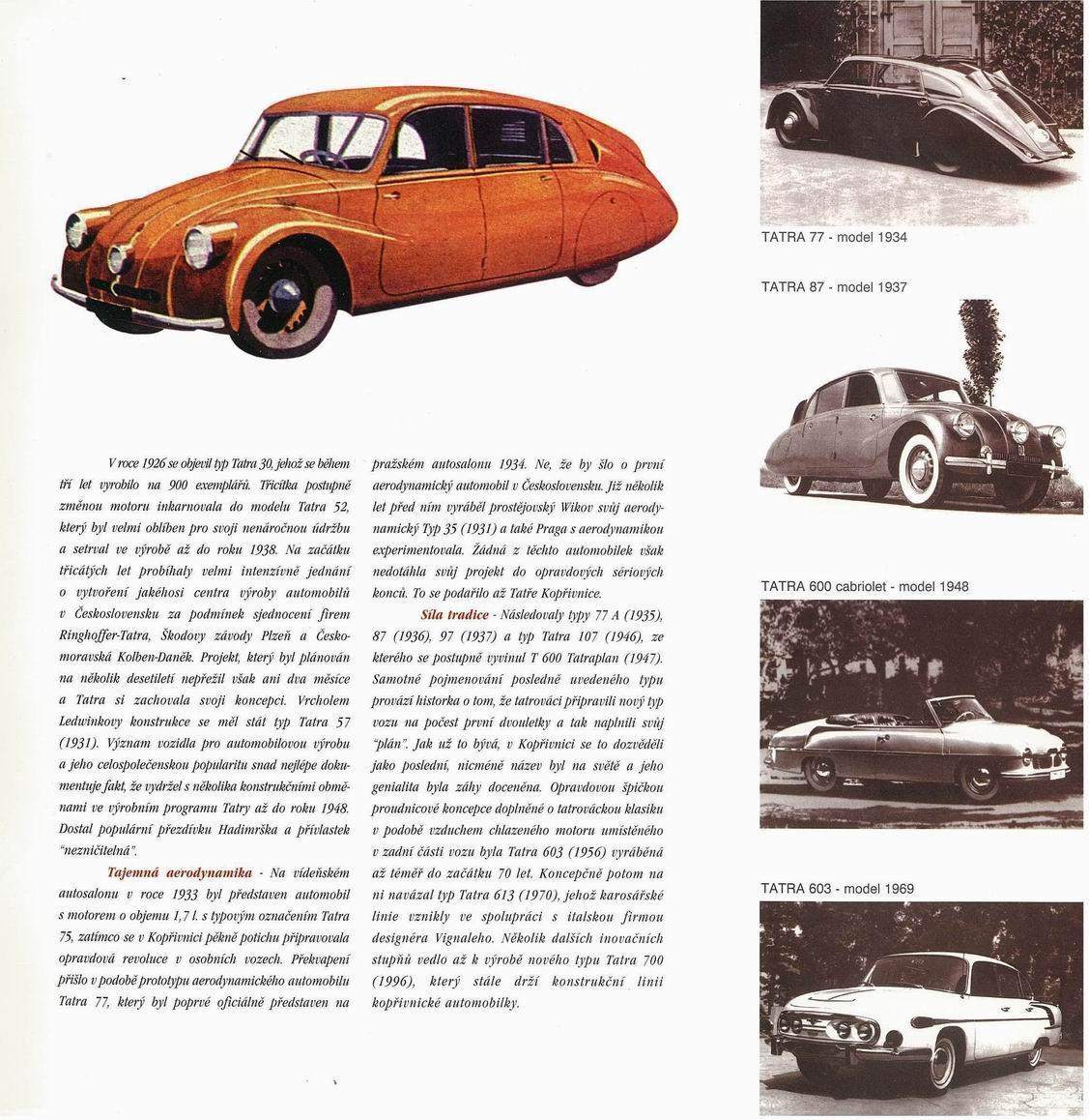 Tatra 700 na prospektech