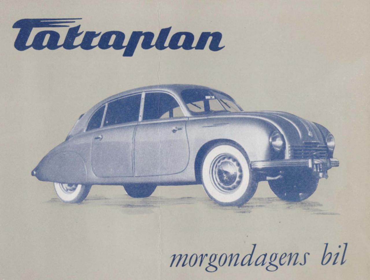 Tatra 600 Reklamní materiály